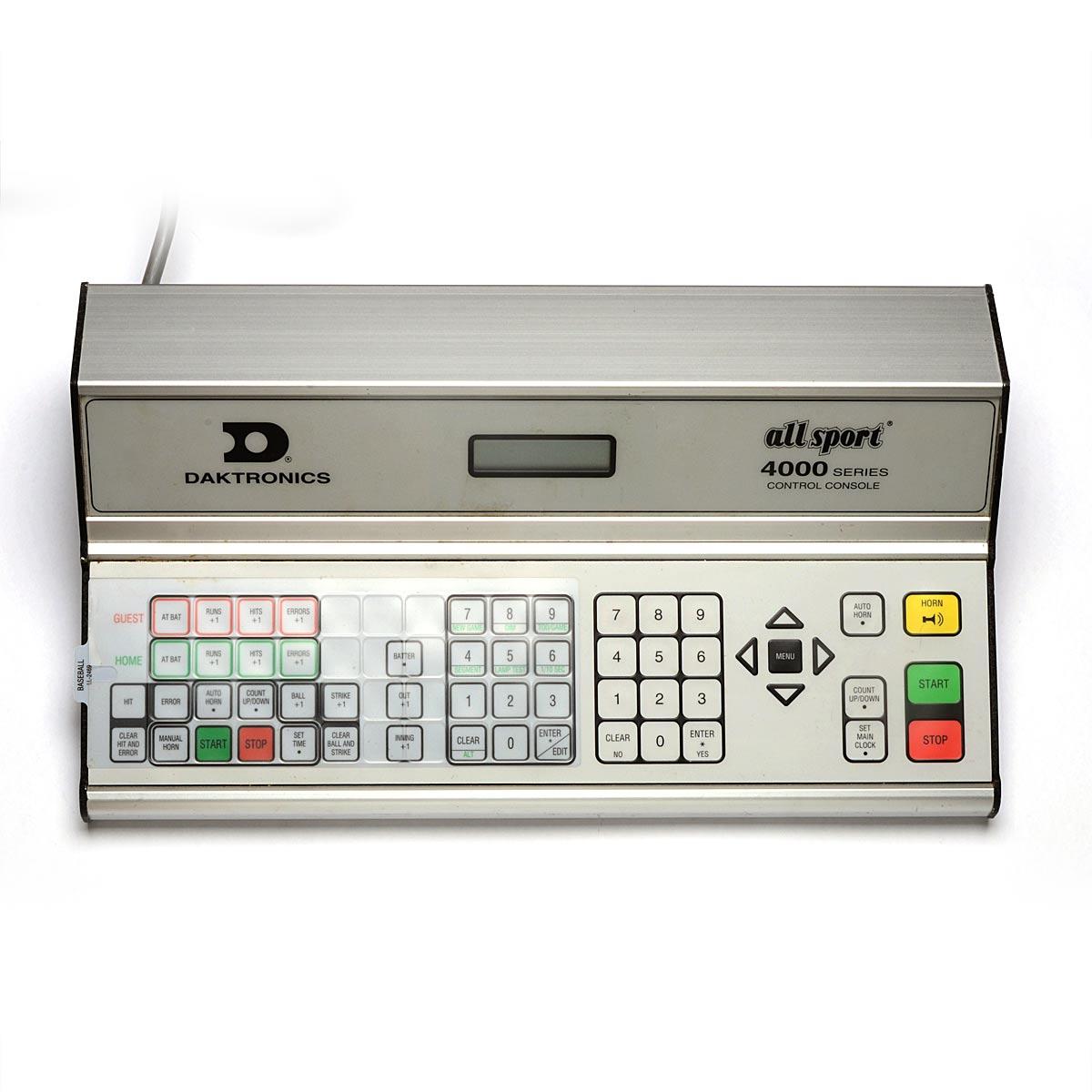 Daktronics Allsport 4000 Control Console Scoreboard