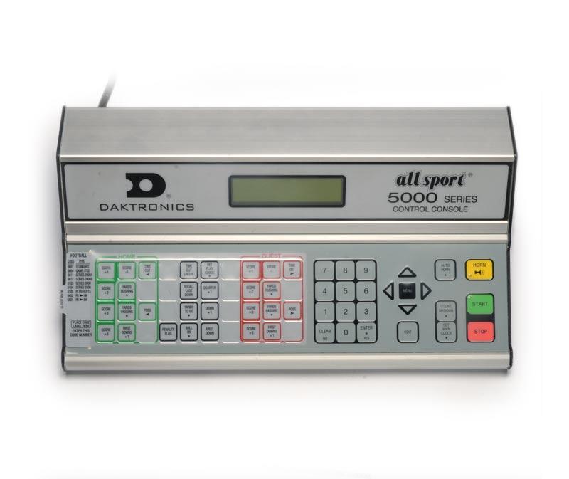 All Sport 5000 Series Control Console Scoreboard